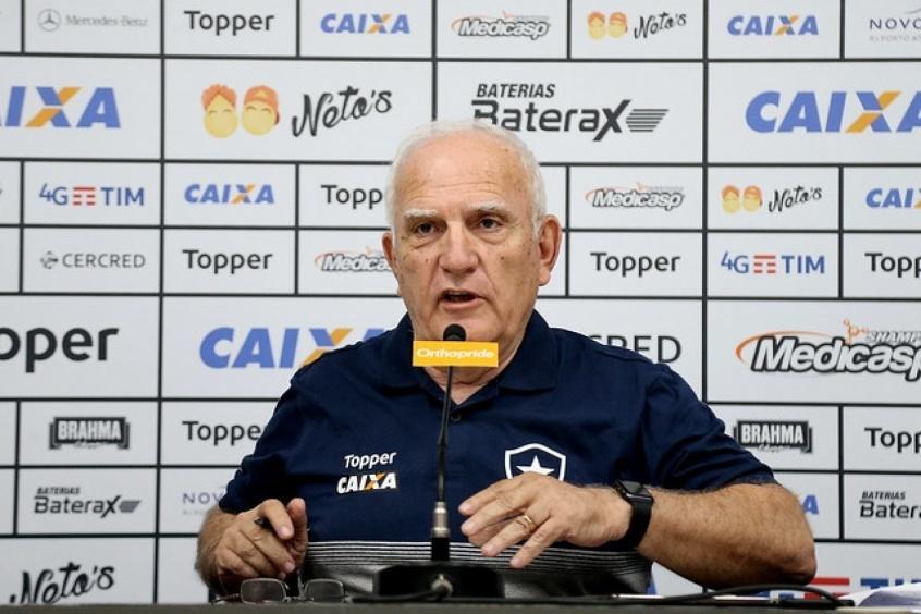 Luis Fernando Santos, vice-presidente executivo do Botafogo