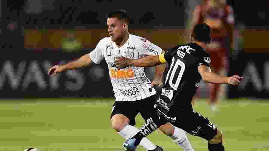 Ramiro é principal novidade do Corinthians para clássico contra o Palmeiras - RODRIGO BUENDIA / AFP