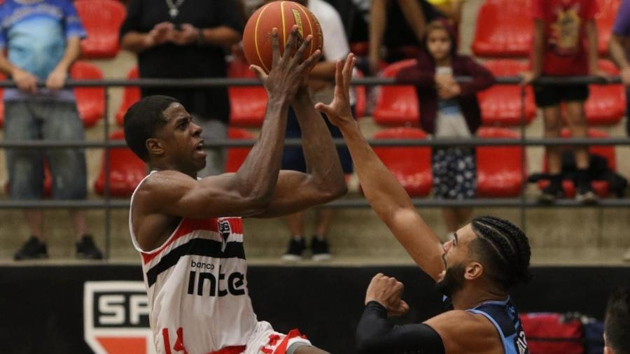 Georginho é o grande nome do time de basquete do São Paulo no NBB - Divulgação/saopaulofc.net