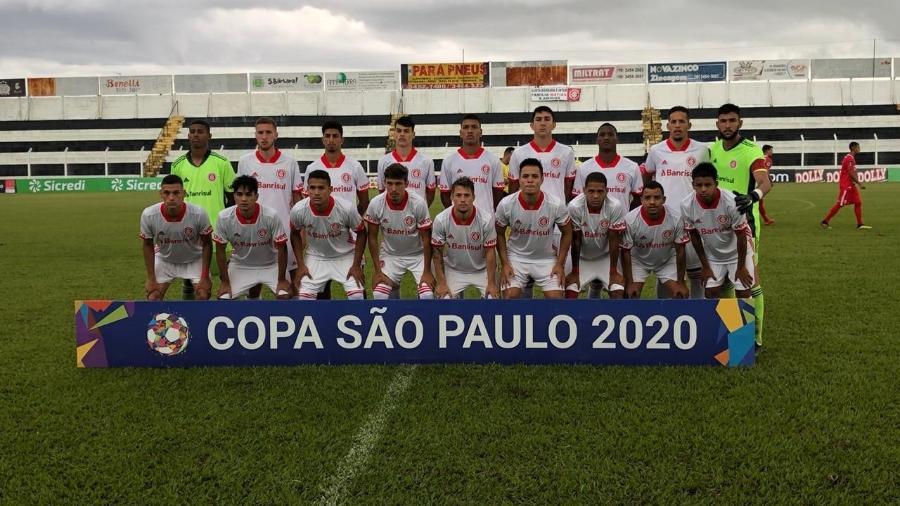 Jogadores do Inter posam para jogo da Copa São Paulo contra o Capivariano - Leonardo Fister/Internacional