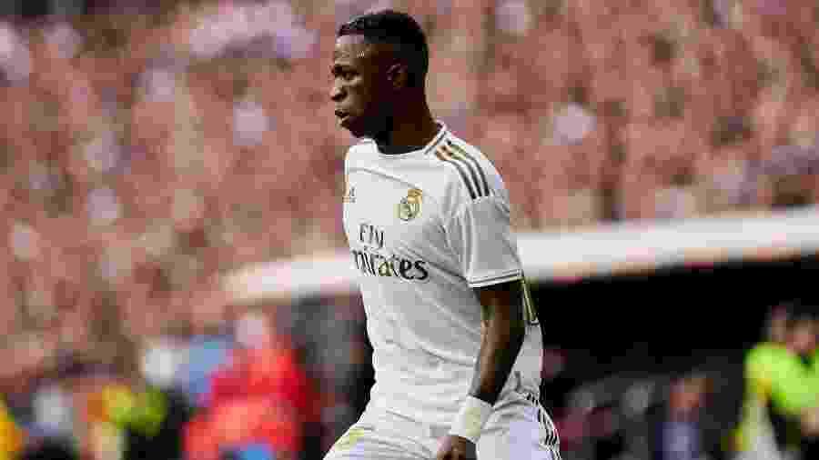 Vinícius Júnior marcou três gols em 25 jogos pelo Real Madrid nesta temporada - NurPhoto/NurPhoto via Getty Images