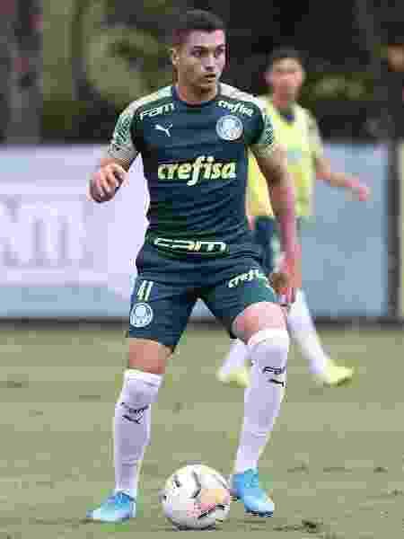 Luan Silva está se recuperando de cirurgia no joelho no Palmeiras - Cesar Greco/Ag. Palmeiras/Divulgação