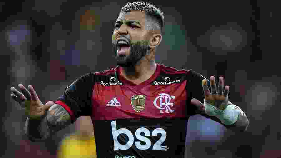 Gabigol não esconde sua torcida no Big Brother Brasil - Thiago Ribeiro/AGIF