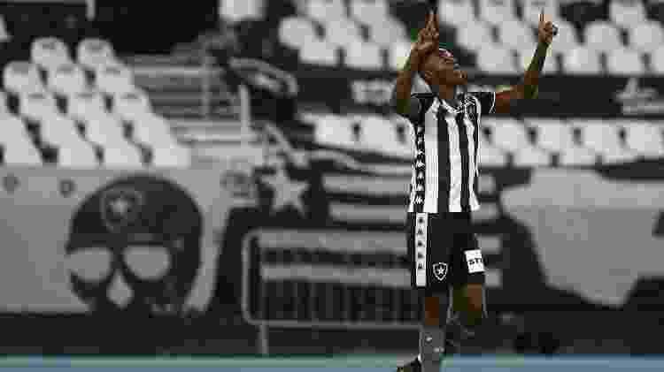Matheus Babi marcou pelo Botafogo em sua estreia no clube - Vitor Silva/BFR - Vitor Silva/BFR