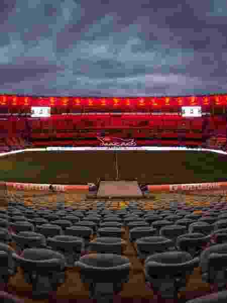 Estádio do Maracanã pronto para receber Flamengo x Racing pela Libertadores 2020 - Divulgação/Maracanã