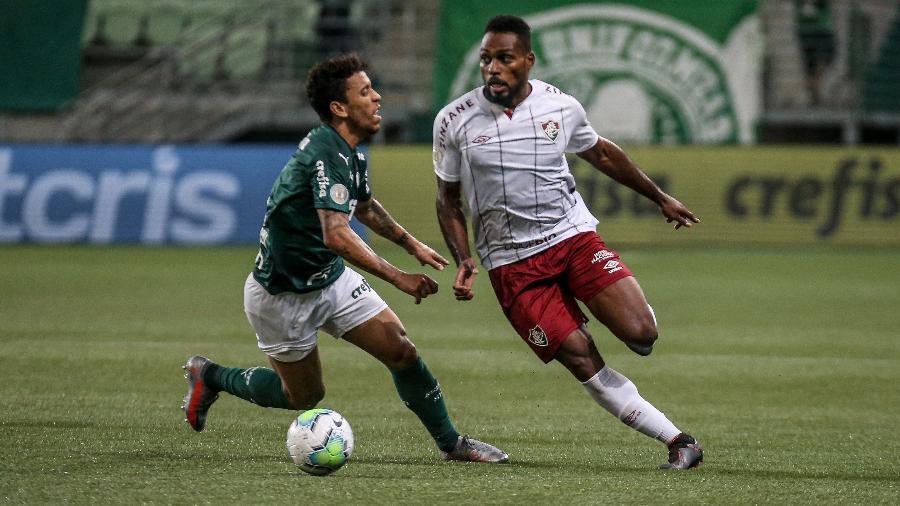 Fluminense torce para o Palmeiras em duas frentes por vaga na fase de grupos da Libertadores - Lucas Merçon/Fluminense FC