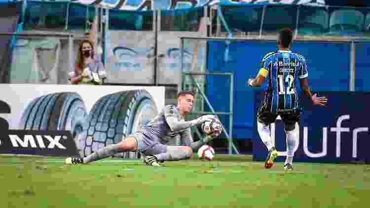 Goleiro Brenno, do Grêmio - Lucas Uebel/Grêmio - Lucas Uebel/Grêmio