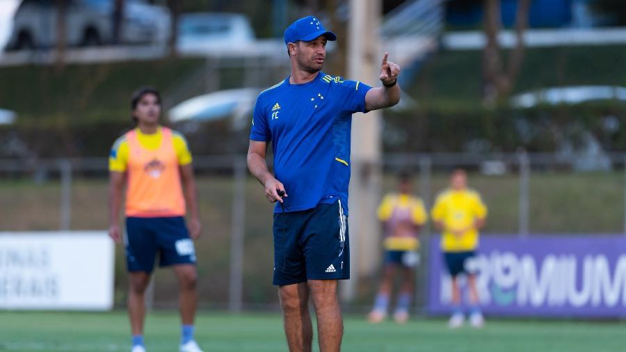 Técnico do Cruzeiro trabalhou no América-MG e iniciou implementação do atual estilo de jogo do rival deste domingo - Bruno Haddad/Cruzeiro