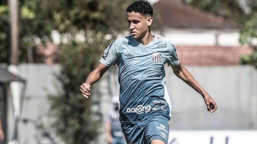 Wesley não tem conseguido achar espaço no elenco - Santos FC