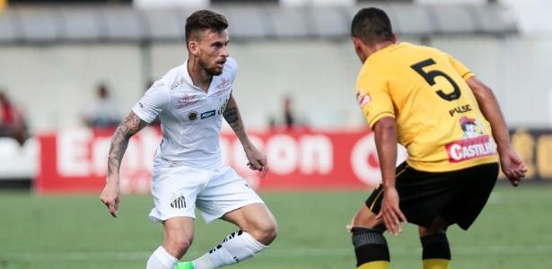 Lucas Lima jogou com Robinho em 2015