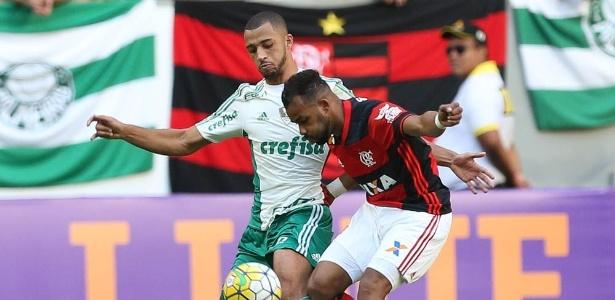 Flamengo e Palmeiras voltam a protagonizar a disputa pelo título brasileiro