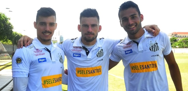 Zeca, Lucas Lima e Thiago Maia já prometeram ficar em 2017 pela Libertadores
