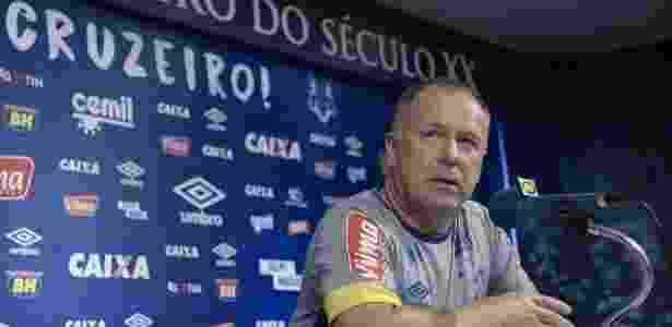 Técnico Mano Menezes, do Cruzeiro - Washington Alves/Light Press/Cruzeiro - Washington Alves/Light Press/Cruzeiro