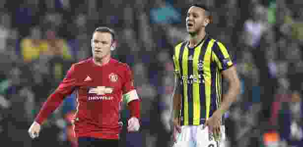 Souza, do Fenerbahçe, e Rooney, do Manchester United - Chris McGrath/Getty Images - Chris McGrath/Getty Images