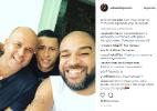 Adriano posta foto esperando o jogo do Fla e fãs pedem:
