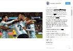 Fãs invadem rede social de Otamendi e xingam argentino por lesão de Jesus - Reprodução/Instagram
