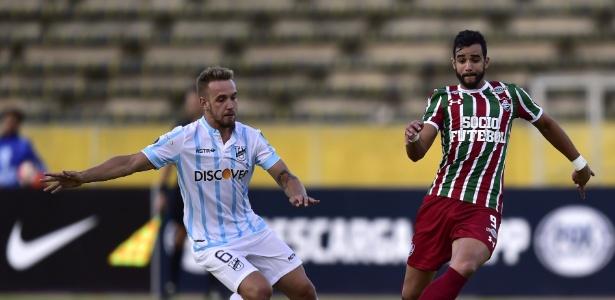 Dourado marcou o gol de empate do Fluminense no Equador