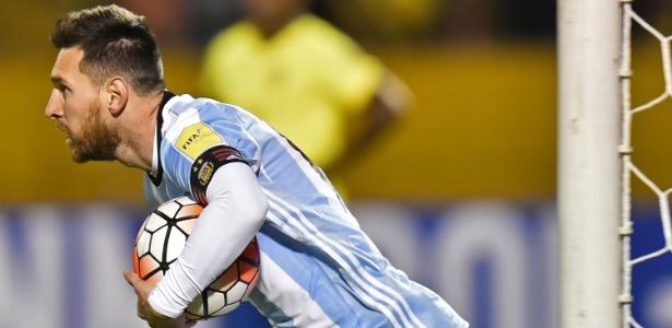 Messi comandou a classificação argentina à Copa do Mundo