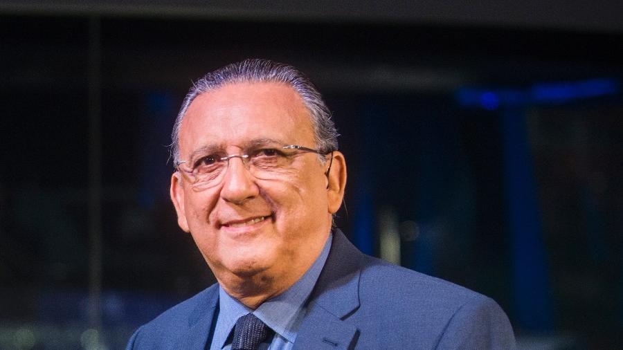Galvão Bueno foi contratado pela Globo em 1981 - Globo/João Miguel Júnior