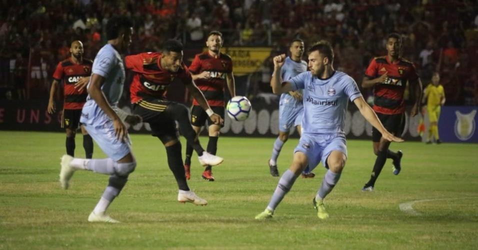 Sport e Grêmio medem forças pelo Campeonato Brasileiro 2018