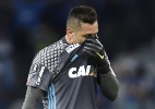 Diego Alves é barrado no Flamengo e se recusa a viajar com elenco - DOUGLAS MAGNO / AFP
