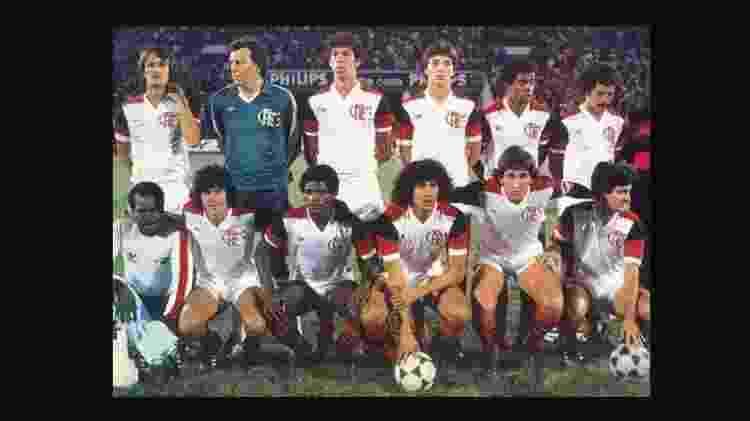 Flamengo venceu a Libertadores e o Mundial em 1981 - Divulgação/Site oficial do Flamengo