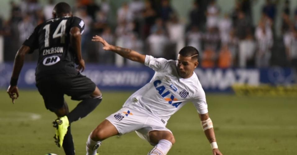 2544a16390 Santos e Atlético-MG se enfrentam neste sábado