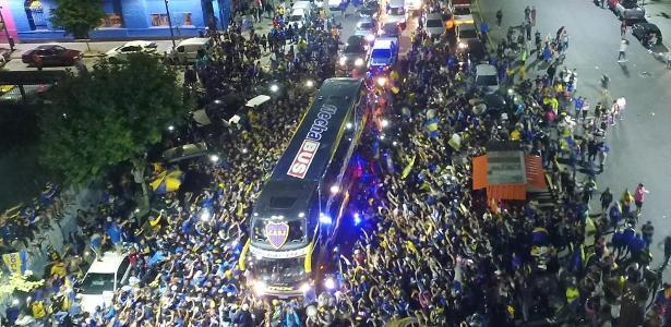 Autoridades espanholas estão de olho na chegada dos torcedores argentinos