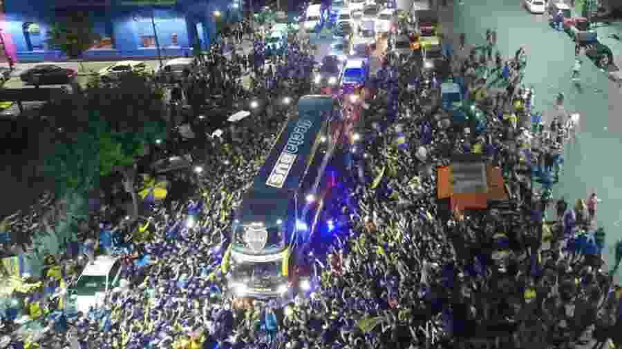 Autoridades espanholas estão de olho na chegada dos torcedores argentinos - Reprodução/Mundo Deportivo