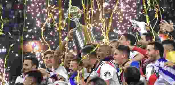 River Plate conquistou pela quarta vez a Copa Libertadores da América - Javier Soriano/AFP