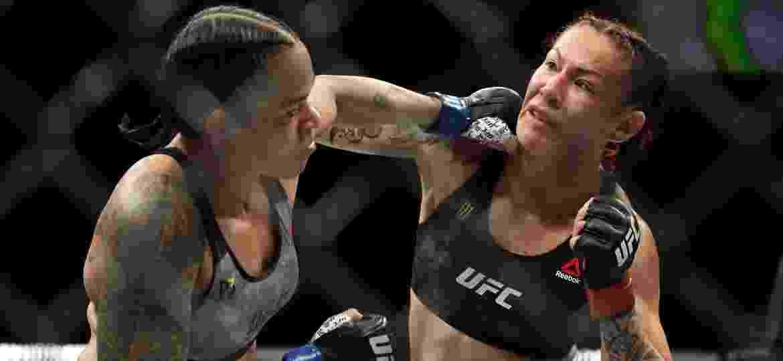Cris Cyborg foi nocauteada por Amanda Nunes no UFC 232, em Inglewood, Califórnia - Christian Petersen/Zuffa LLC/Zuffa LLC via Getty Images