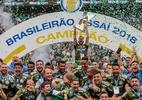 Palmeiras sobrando! Jogadores elegem decacampeão como melhor do Brasil; Grêmio é o 2º - Alê Cabral/Agif