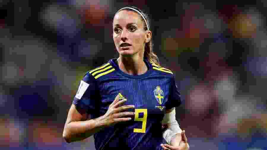 A sueca Kosovare Asllani é a primeira atleta contratada para a equipe feminina do Real Madrid - Zhizhao Wu/Getty Images