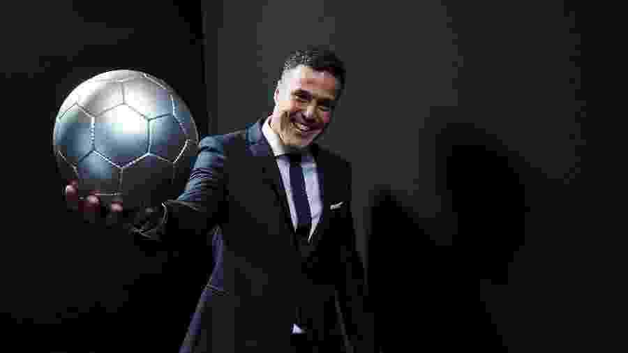 """O ex-goleiro Júlio César marcou presença na cerimônia """"The Best"""", da Fifa - Michael Regan/Fifa/Getty Images"""