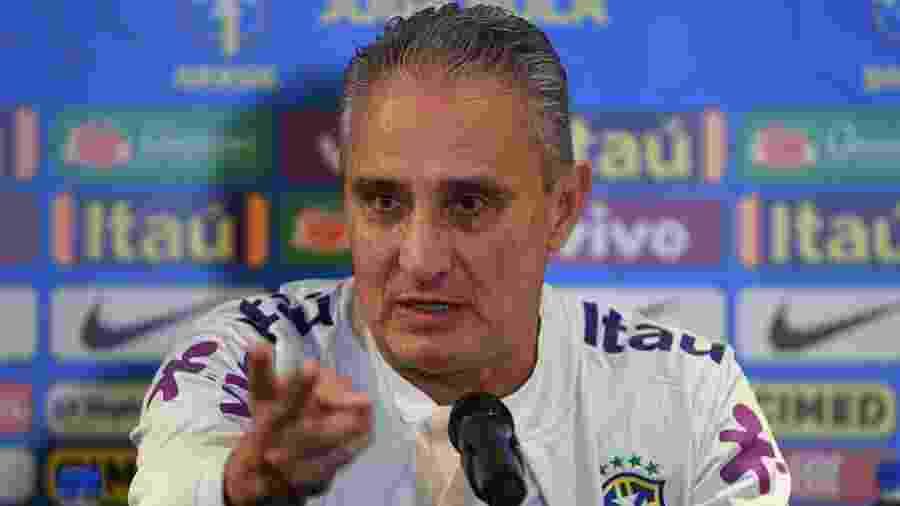 Tite reclamou do calendário organizado pela CBF para as partidas da seleção - Pedro Martins/Mowa Press