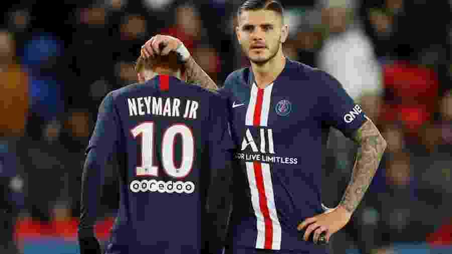 Icardi pode deixar o PSG em troca com o Arsenal envolvendo Aubameyang - REUTERS/Christian Hartmann