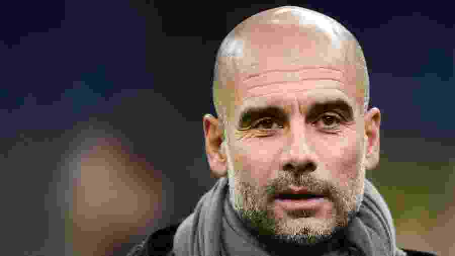 Pep Guardiola, treinador do Manchester City - Miguel MEDINA / AFP