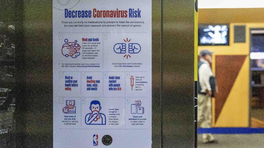 Por risco de coronavírus, Oklahoma City Thunder x Utah Jazz, pela NBA, é adiado - Alonzo Adams-USA TODAY Sports