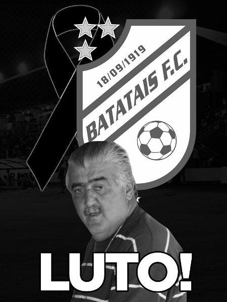 José Luís Lobanco Arantes, ex-presidente do Batatais FC, morreu aos 66 anos - Divulgação/Batatais FC