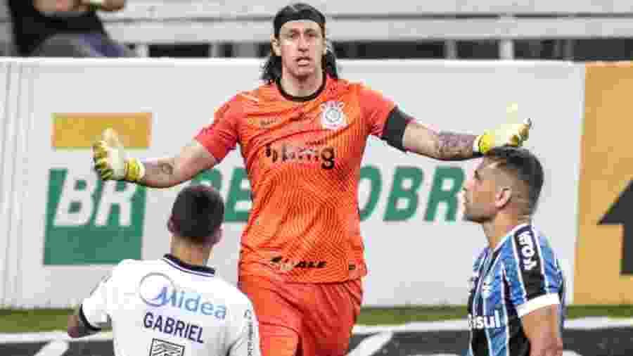 Cria do Grêmio, Cássio vê o Corinthians penar contra o rival gaúcho no Brasileirão - Rodrigo Coca/ Ag. Corinthians