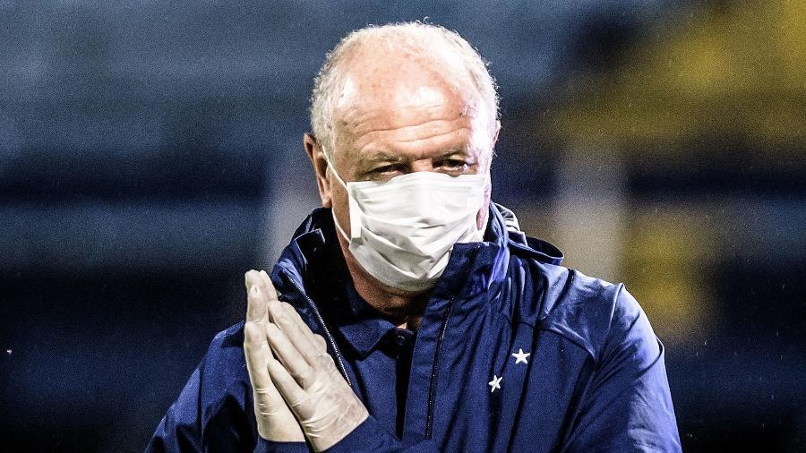 Segunda passagem do técnico pela equipe mineira teve 21 jogos (nove vitórias, oito empates e quatro derrotas) - Gustavo Aleixo/Cruzeiro