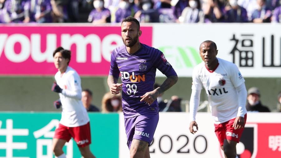 Leandro Pereira fez sucesso na última temporada do Campeonato Japonês - Divulgação