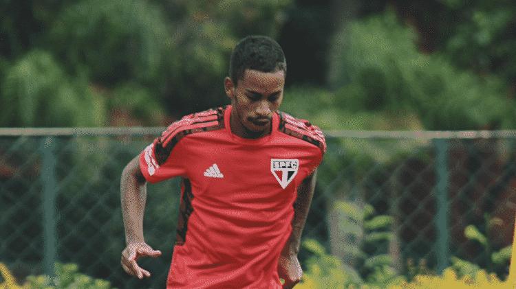 Paulinho Boia é um dos jogadores formados em Cotia no elenco do São Paulo em 2021 - Divulgação/São Paulo - Divulgação/São Paulo
