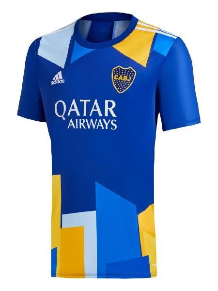 Nova camisa comemorativo da Boca Juniors inspirada no bairro de La Boca, na Argentina - Reprodução