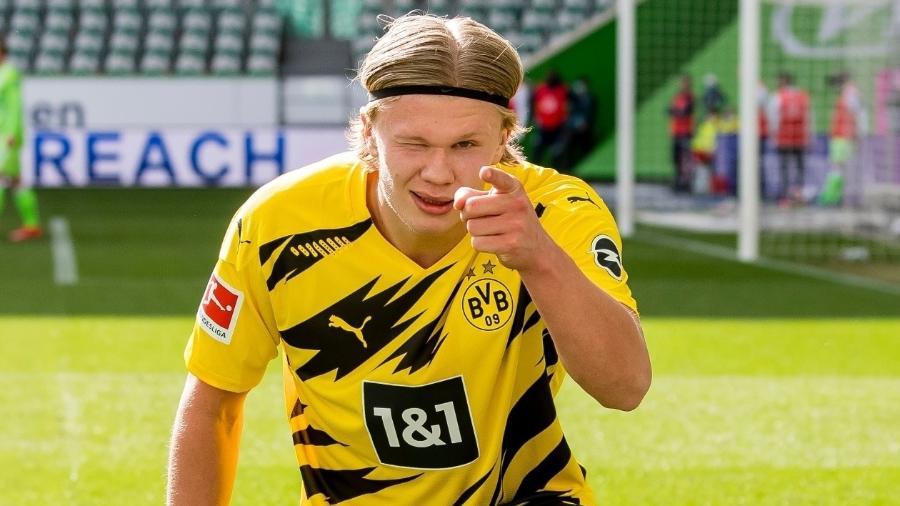 Haaland é um dos jogadores mais desejados do Mercado da Bola atual - Alexandre Simoes/Borussia Dortmund via Getty Images