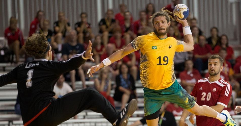 Brasil e Canadá se enfrentam no handebol masculino em Toronto
