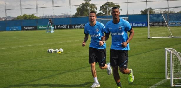 Luan e Walace estão na mira de clubes de fora do país. Grêmio foi bem sem eles - Marinho Saldanha/UOL