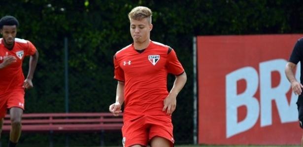 Lucas Fernandes se machucou durante treinamento