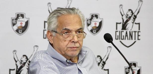 Eurico concede coletiva para falar sobre o Vasco x Flamengo deste domingo