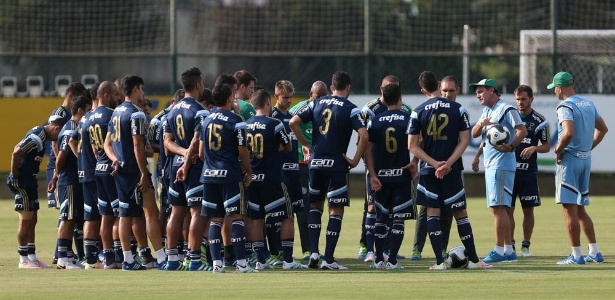 Técnico Cuca tem hoje 37 jogadores à disposição no Palmeiras - Cesar Greco/Ag Palmeiras